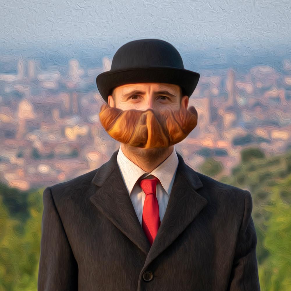 Ceci n'est pas un Magritte!
